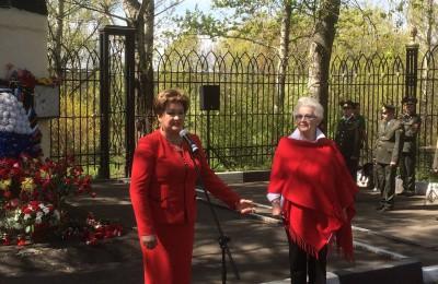 Депутат поздравила ветеранов с праздником