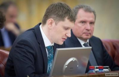 Максим Решетников на заседании Президиума