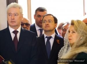 Сергей Собянин принял участие в освящении храма Преображения Господня