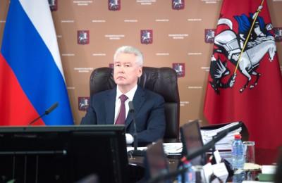 Мэр Москвы Сергей Собянин: Льготную ставку мы оставили специально для общественных организаций