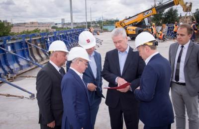 Мэр Москвы Сергей Собянин осмотрел реконструкцию Волгоградского проспекта