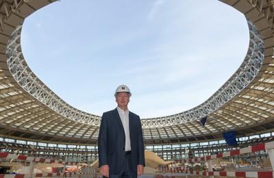 """Сергей Собянин посетил стадион """"Лужники"""""""