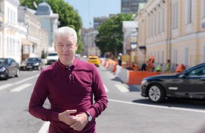 Мэр Москвы Сергей Собянин рассказал о будущем Мясницкой улицы
