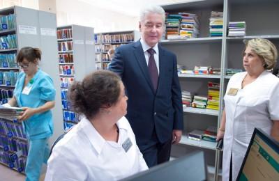 Мэр Москвы Сергей Собянин поведал о старте электронных сервисов в области медицины