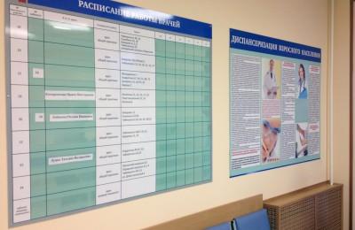 По новым стандартам все поликлиники столицы будут работать в октябре