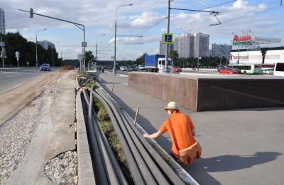 Житель Орехово-Борисово Северного постоянно рассказывает интернет-пользователям о том, как развивается район