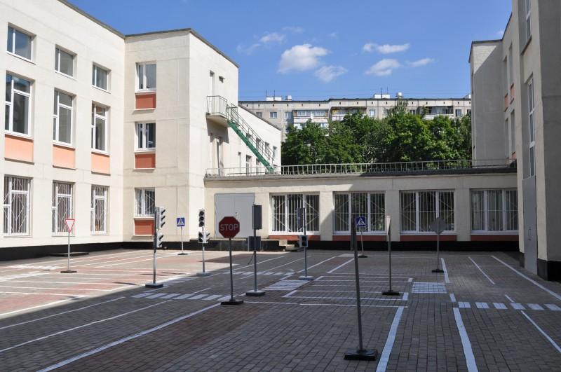 Площадка для изучения ПДД при
