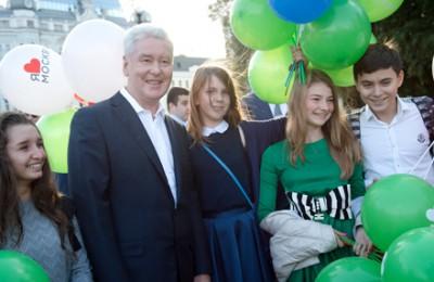 Мэр Москвы Сергей Собянин открыл сегодня пять обновленных городских улиц