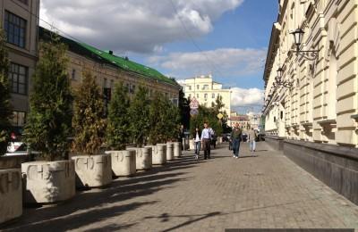 На Лубянке появится новая пешеходная зона