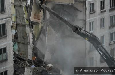 Более 1,5 тыс. пятиэтажек «сносимых» серий демонтировано в Москве