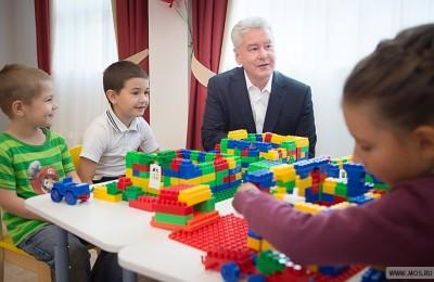 Сегодня мэр Москвы Сергей Собянин открыл детские сады в районе Бескудниково