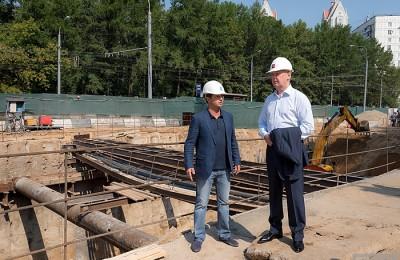 Мэр Москвы Сергей Собянин проверил строительство тоннеля на улице Народного Ополчения