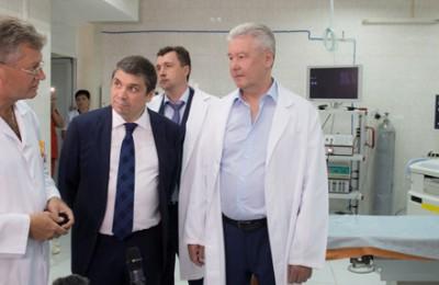 Мэр Москвы Сергей Собянин осмотрел городскую больницу № 1 имени Н.И. Пирогова