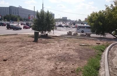 Вид на перекресток Варшавского шоссе и Сумской улицы