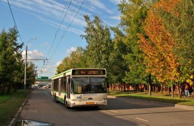 Автобус №128 маршрут, которого проходит по территории ЮАО, с 3 сентября будет работать по новому графику