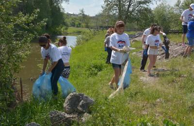 Волонтеры очистят берега Москвы-реки от мусора