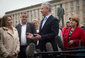 Мэр Москвы Сергей Собянин: Уверен, что горожане оценят новую Триумфальную площадь