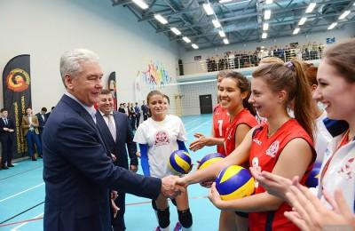 Сегодня мэр Москвы Сергей Собянин открыл бассейн для студентов Первого меда