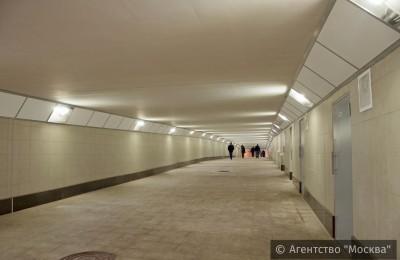 За пять лет в Москве возвели почти 140 пешеходных переходов