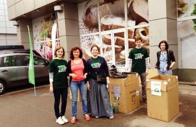 Более 4 тонн отходов собрали в столице по итогам акции «Разделяй и используй»