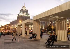 Результат реконструкции Триумфальной площади положительно оценили около 95% москвичей