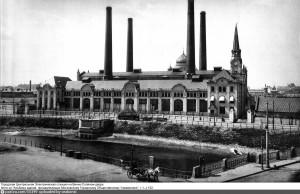 Фото ГЭС-2 1914 года