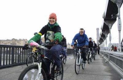 Завершающий этап акции-велопробега «Я люблю МОСКВУ!» пройдет 17 октября