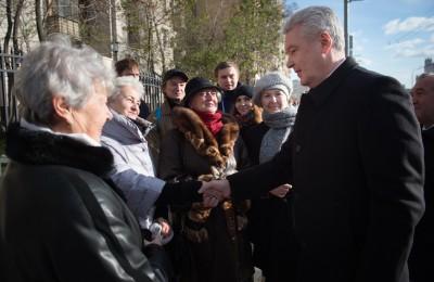 Сегодня мэр Москвы Сергей Собянин посетил с визитом обновленный Ленинградский проспект