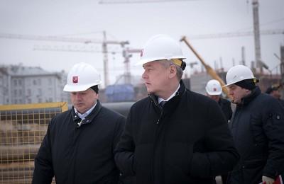 Мэр Москвы Сергей Собянин: Окончательно строительство Люблинско-Дмитровской линии закончится в 2017 году