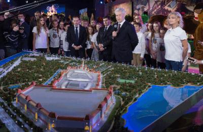 Мэр Москвы Сергей Собянин рассказал о строительстве парка развлечений в Южном округе