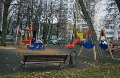 В районе Орехово-Борисово Северное завершено благоустройство двух дворов