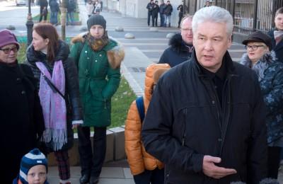 Мэр Москвы Сергей Собянин: Теперь по улицам Новослободская и Долгоруковская можно передвигаться свободно