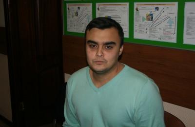 Председатель молодежной палаты района Орехово-Борисово Северное Алескандр Рекик: Мы постараемся стать лучшими