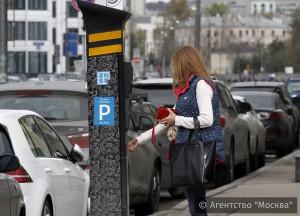Жителям столицы начали рассылать карту новых платных парковок