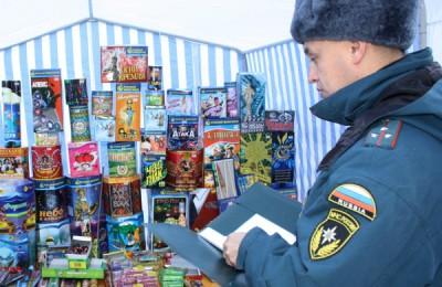 В Москве проведут рейды по выявлению незаконной продажи пиротехнических изделий и нестационарной торговли елок