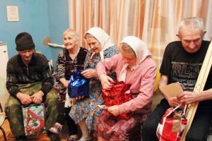 Пожилые люди ЮАО