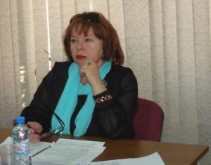 глава муниципального округа, директор образовательного комплекса №939 Елена Сухоносова.