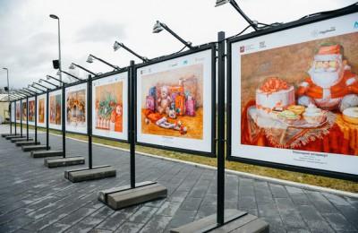 Посетители «Садовников» могут увидеть выставку работ воспитанников школы акварели Андрияки