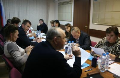 Депутаты заслушали доклады сотрудников ОМВД