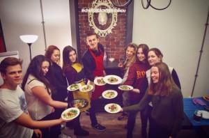 """Мастер-класс по приготовлению блюд итальянской кухни от студента колледжа """"Царицыно"""" Павла Овсянникова"""