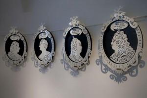 Экспонаты выставки «Готический вкус в Англии и России XVIII века»