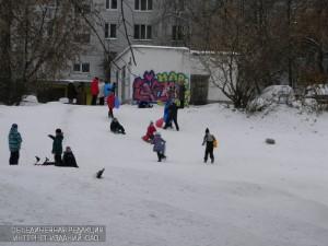 Студенты и Татьяны района смогут бесплатно покататься на тюбингах 25 января