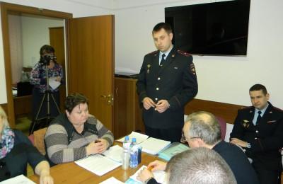 Заседание Совета депутатов