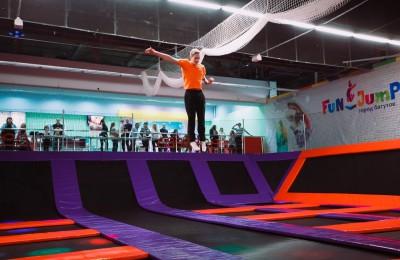 """В батутном парке """"Fun Jump"""""""
