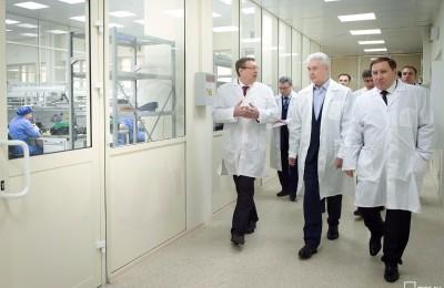 Собянин посетил Городскую клиническую больницу имени Юдина