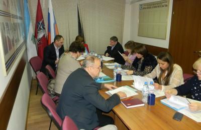 Заседание депутатов муниципального округа (МО) Орехово-Борисово Северное