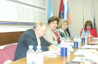 Внеочередное заседание Совета депутатов муниципального округа