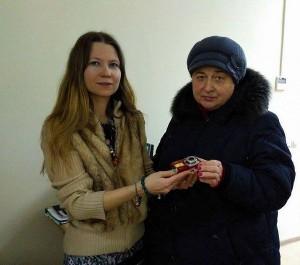 Фотоаппарат в дар преподнесли одной из участниц проекта