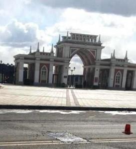 Участок Новоцарицынского шоссе после ремонта