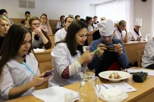 """Студенты колледжа """"Царицыно"""" на мастер-классе"""